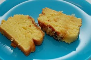 Lemon Cake with Lemon Glaze 1