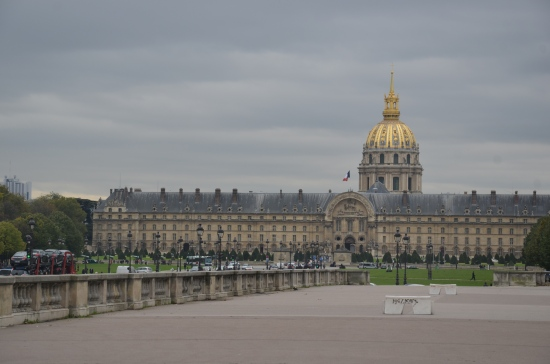 Hotel des Invalides and Dome des Invalides