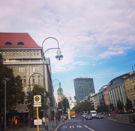 Kufurstendamm in Berlin
